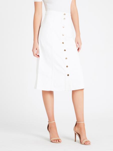 MiH Jeans Panton Skirt - White