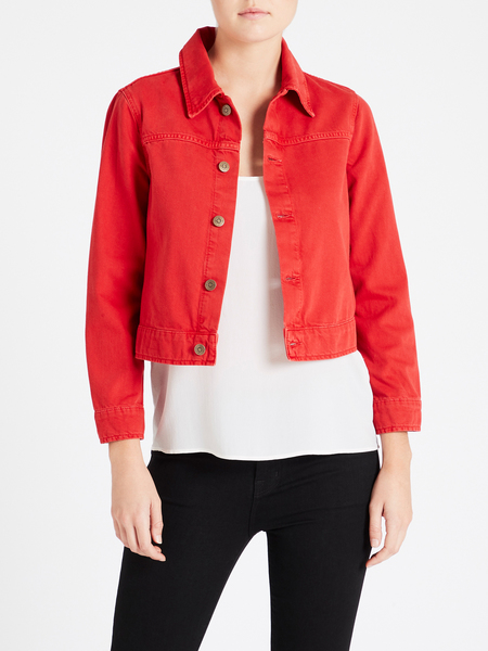 MiH Jeans Daily Jacket - Red