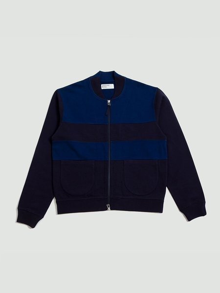 Universal Works Loopback Panel Caris Jacket - Blue