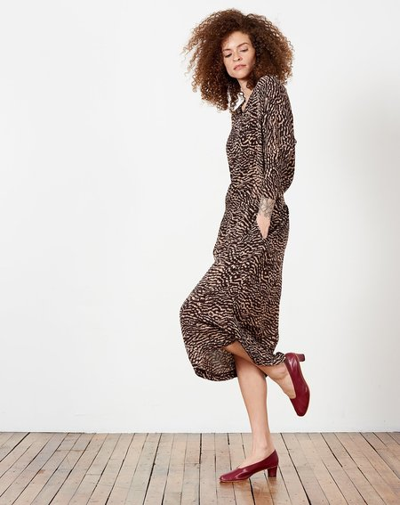 A Détacher Doobie Dress - Animal Print