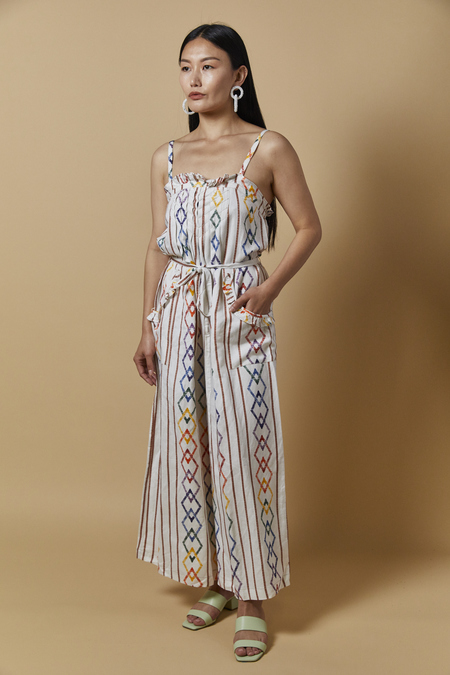 Current Air Rainbow Jumpsuit - Multi