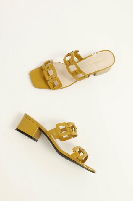 Intentionally Blank Sharpy Heel - mustard