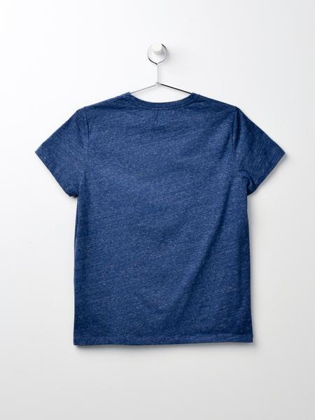 A.P.C. T-shirt Logo F - Bleu