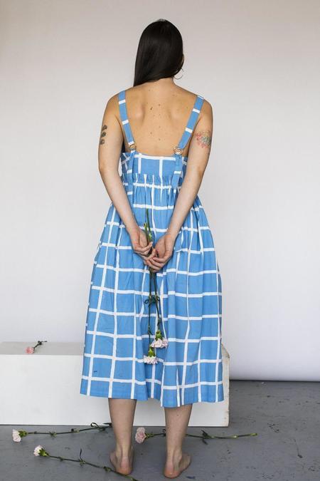 Maggie Jayne Maggie Picnic Dress - Sky Grid