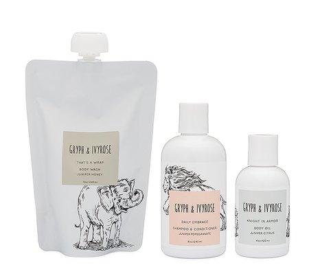 KIDS Gryph & Ivyrose Newborn Essential Bath Set