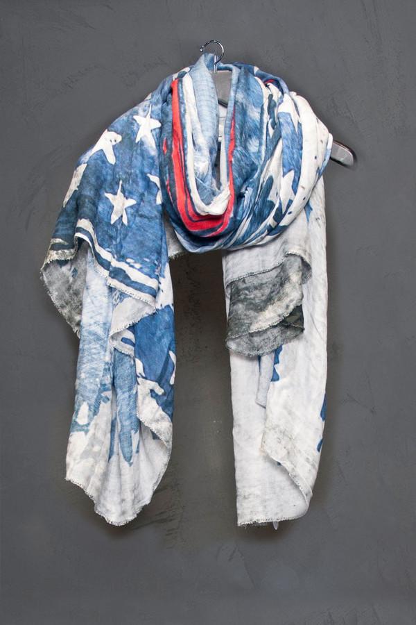 Faliero Sarti American Flag Scarf