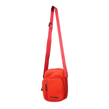 POLYTHENE* OPTICS SHOULDER BAG - RED