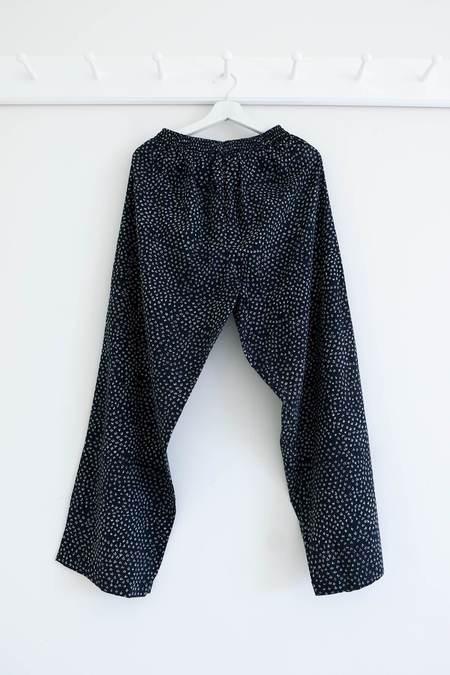 Karu Scrub Print Pants - Midnight Blue