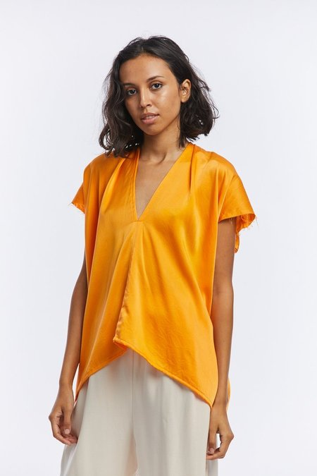 Miranda Bennett Silk Charmeuse Everyday Top