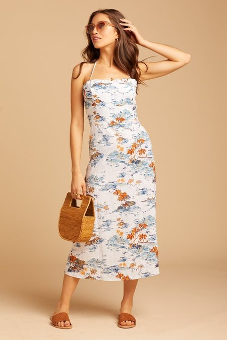 Free People Beach Party Dress - Tropical Print
