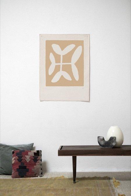 Upton Clover Canvas Print - Clementine