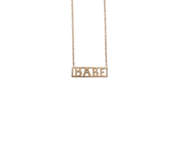 Winden Babe Necklace