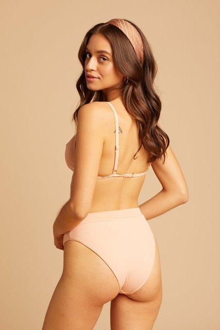 L Space Frenchi Bikini Bottom - Desert Rose