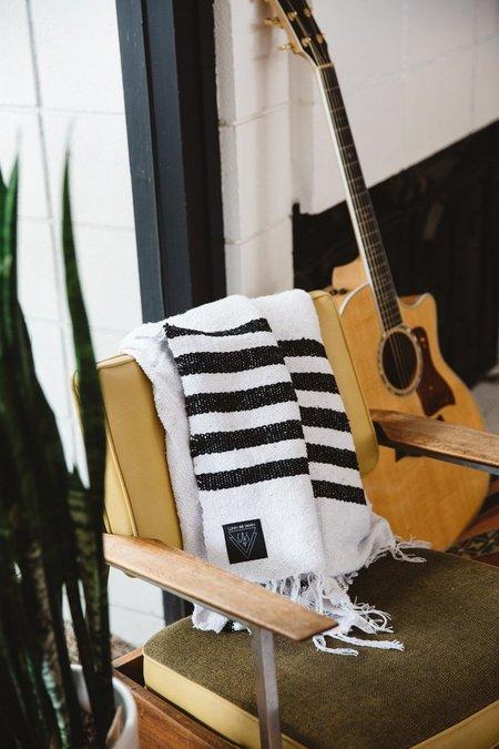 Gunn And Swain Driftwood Blanket - Black/White