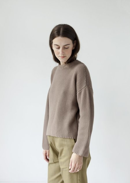 Micaela Greg Seed Sweater - Mushroom