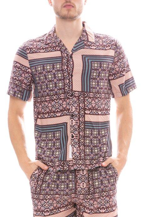 Native Youth Kendrick Shirt - Purple