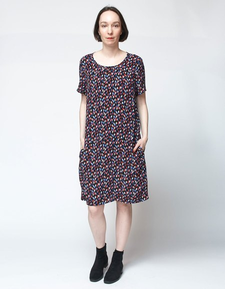 Bishop Collective Box Dress - Tick Mark