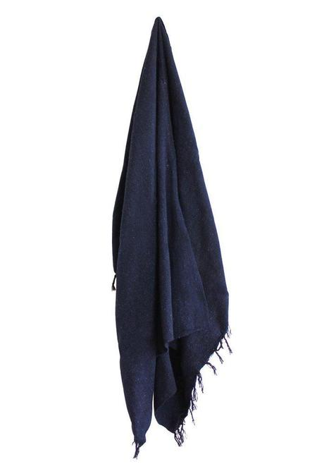 Gunn And Swain The Abyss Blanket - Navy