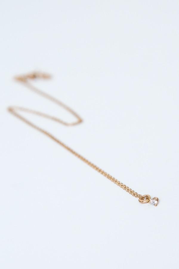 blanca monros gomez tiny diamond necklace