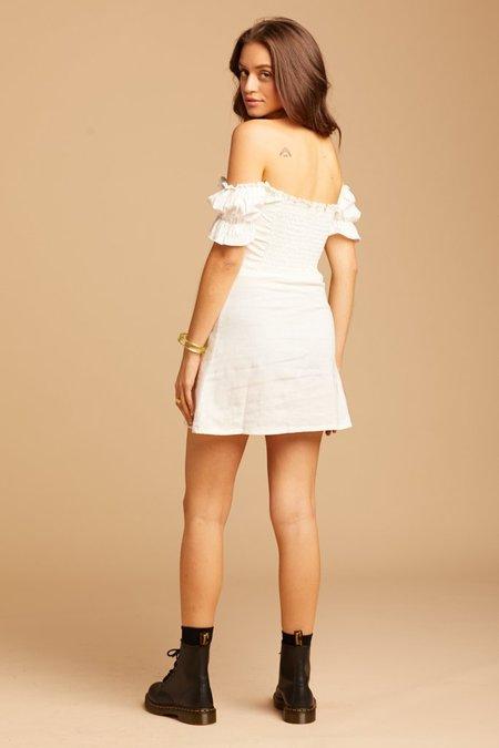 Jen's Pirate Booty Belize Mini Dress - White