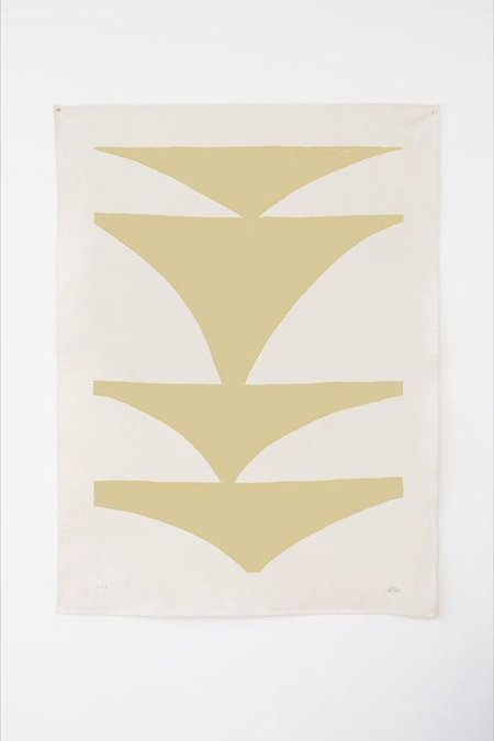Upton Caudor Canvas Print - Yellow