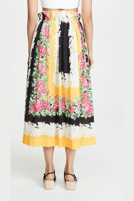Rachel Comey COMMODORE SKIRT - Yellow