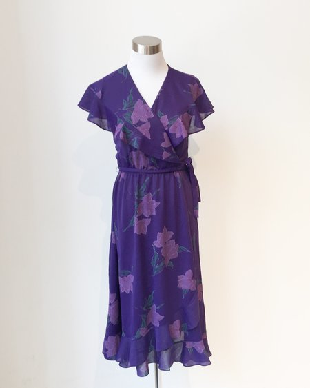 Vintage Mary Martin for Rainbow of California Dress - Purple