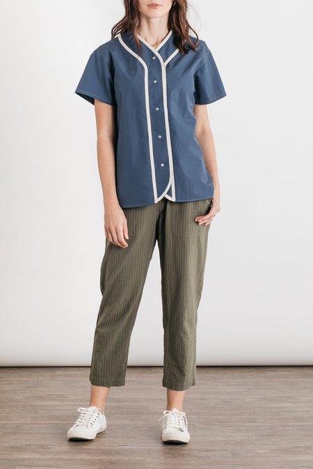 W'menswear Girl's League Shirt - Blue