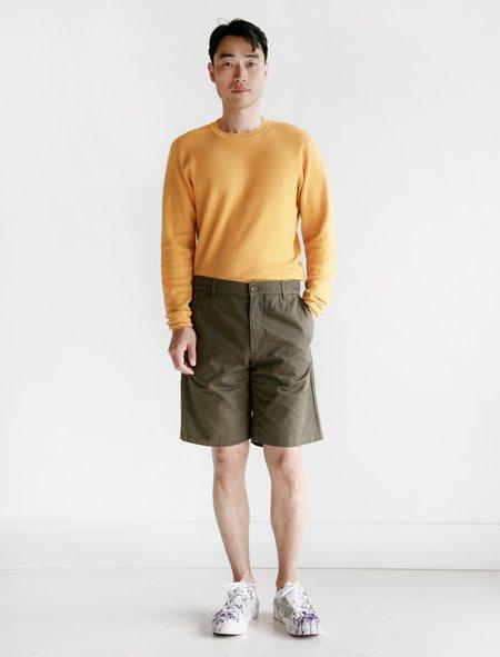 Norse Projects Josef Fatigue Hbt Shorts - Ivy Green