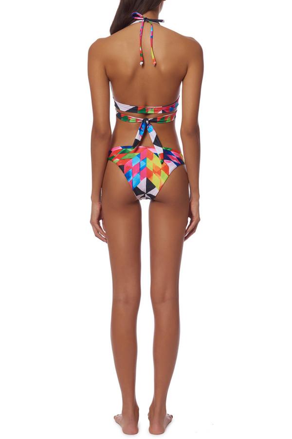 Mara Hoffman Wrap Around Bikini Top