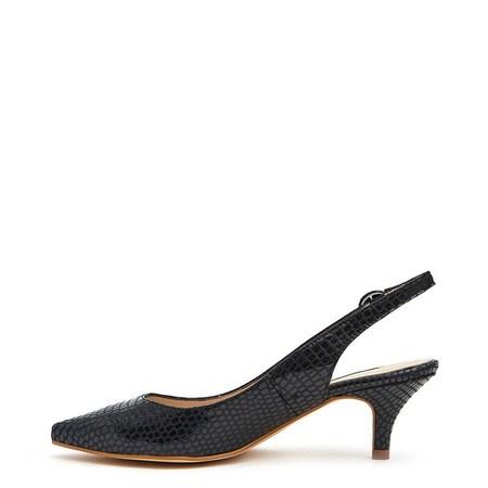 About Arianne Frida heel - Snake Black
