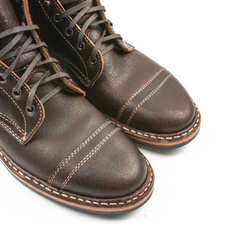 White's Boots Service MP Cap Toe - Brown Wax