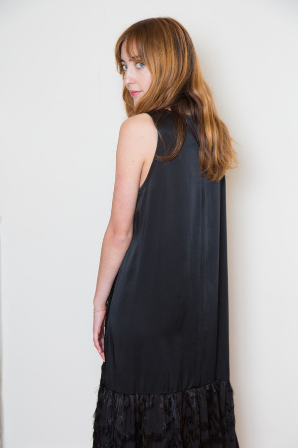 rodebjer dunia fringe dress