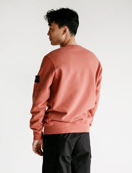 Stone Island Crewneck Sweatshirt - Rust