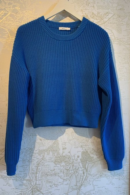 A.L.C. Jeremy Ribbed Sweater - blue