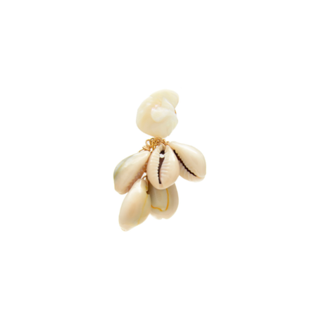 SVNR Holbox Earring (Single) - Mother of Pearl/Cowrie