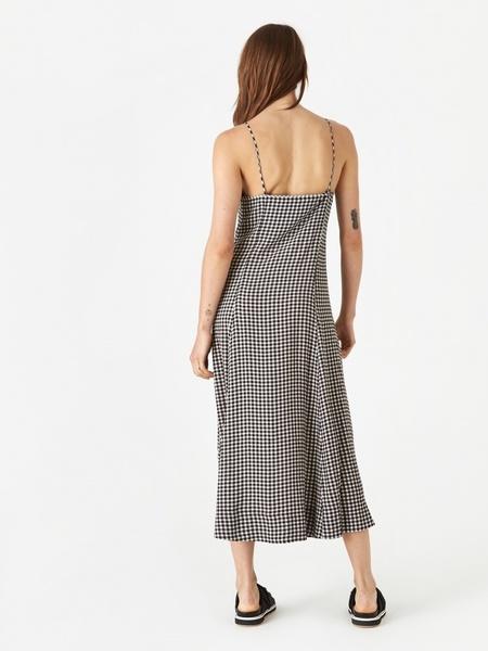 Ganni Strap Dress - BLACK