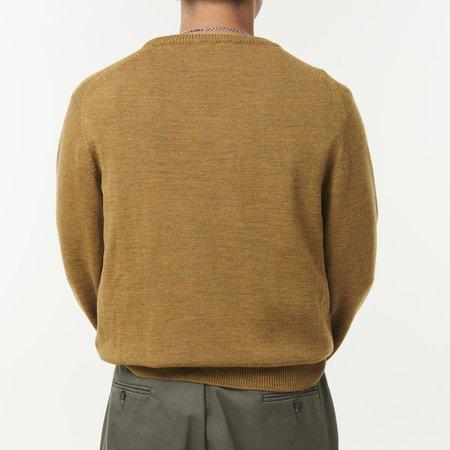McIntyre Colin Merino Crew Neck Sweater - Caramel