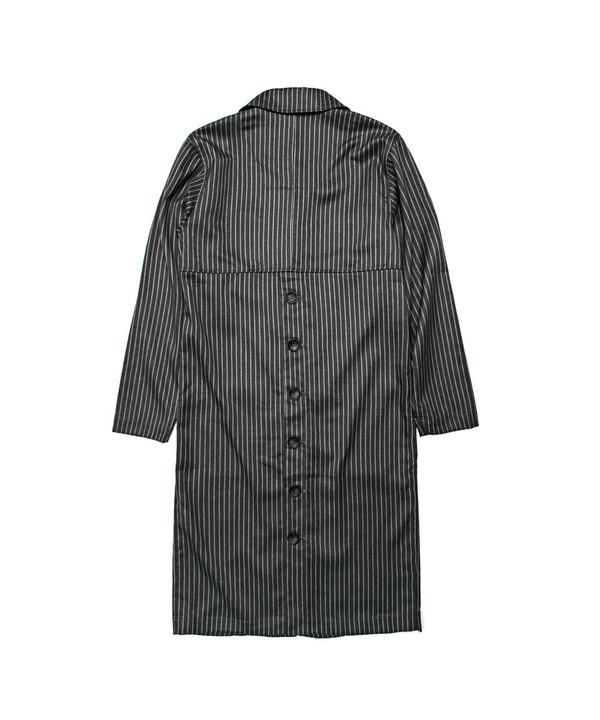 Unisex Tailored Stripe Top Coat