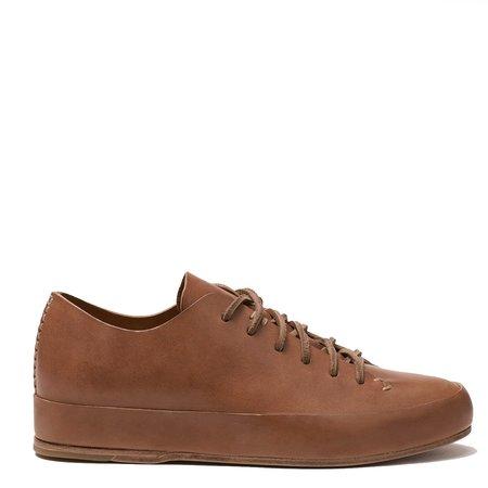 Feit Veg Tanned Hand Sewn Low Sneaker - TAN