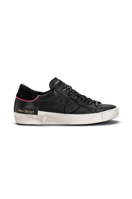 Philippe Model Prsx Sneakers - Noir/Fuchsia