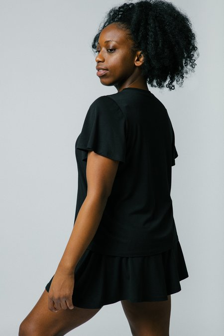 Mary Young Sample Malak Tee - Black