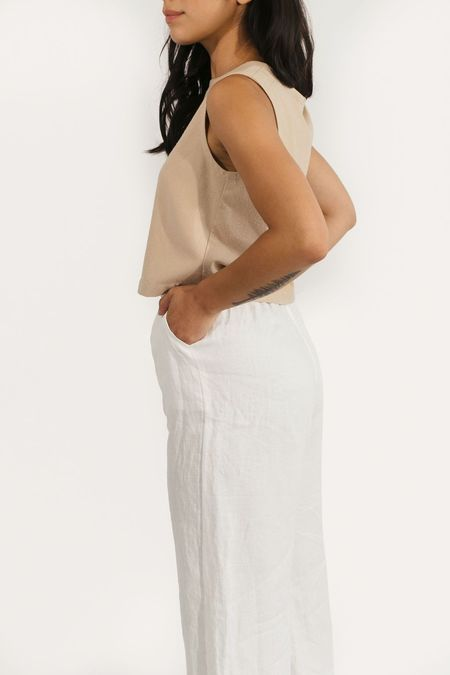 Two Fold Clothing Raw Silk Elspeth Tank