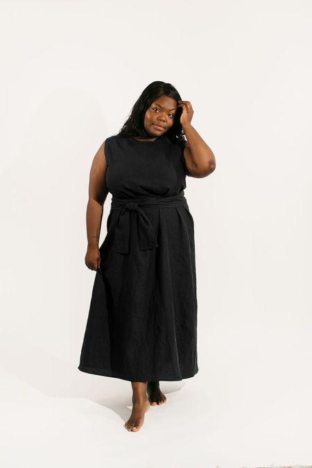 Two Fold Clothing Linen Kayo Dress