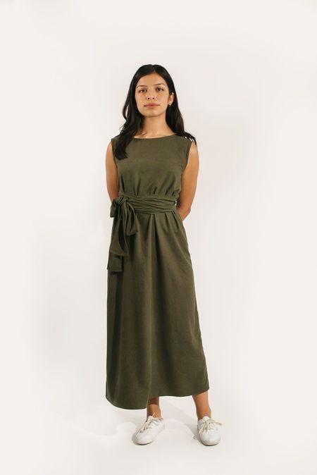 Two Fold Clothing Raw Silk Kayo Dress