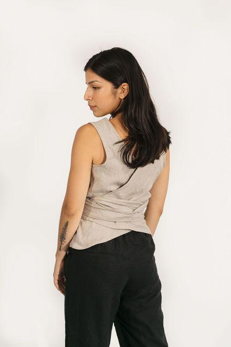 Two Fold Clothing Linen Misako Top
