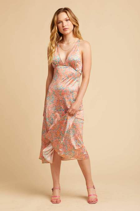 Free People Nowhere To Be Slip - Coral