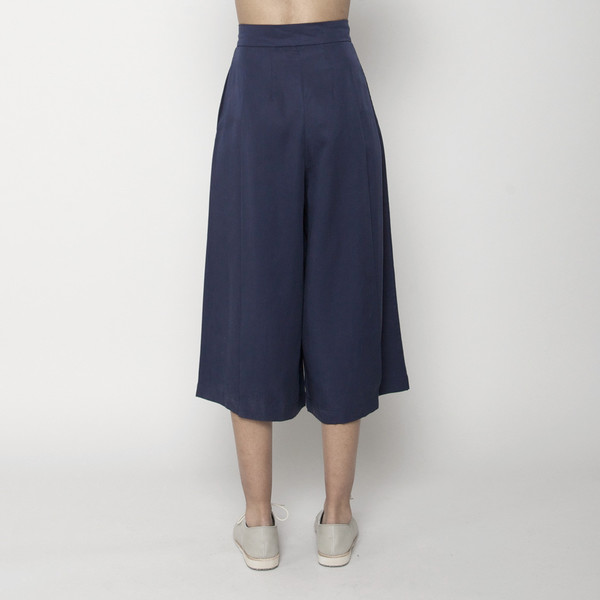 7115 by Szeki Summer Culotte- Navy SS16