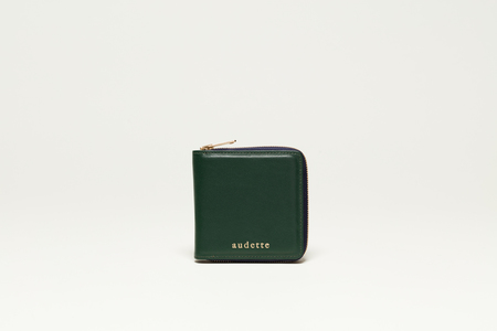 AUDETTE CARRÉ WALLET - FIR GREEN