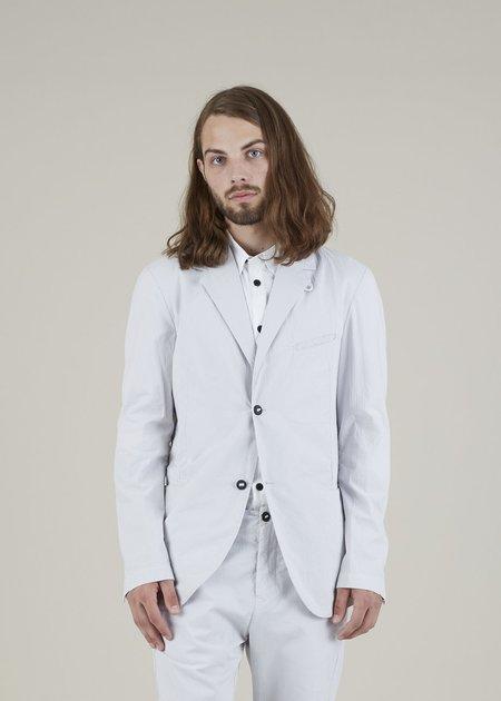 Hannes Roether Zeylon Pinstripe Blazer - Light Grey